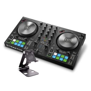 244507 Native Instruments Traktor Kontrol S2 MK3 + Reloop Smart Display Stand - Perspektive