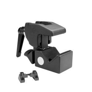 244612 Adam Hall Accessories SUPER CLAMP MK2 Universal Haken mit Klemmhebel schwarz - VERSION 2 - Perspektive
