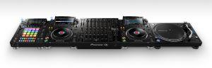 244629 Pioneer DJM-V10 + 2x CDJ-3000 + DJS-1000 + PLX-1000 - Perspektive