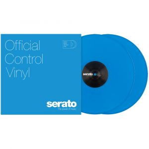 "Serato 2x12"" Neon blau Control Vinyl"