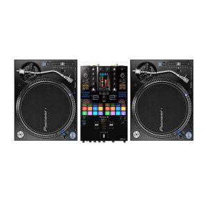 244914 Pioneer DJ DJM-S11 + 2 x PLX-1000 - Perspektive