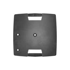 245012 Gravity TWB 431 B Quadratischer Touring Stahl-Standfuß mit exzentrischer Montagemöglichkeit - Top