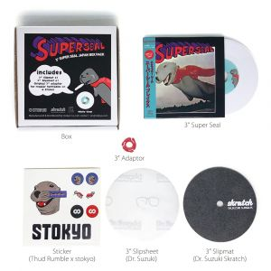245071 Stokyo 3'' Super Seal (DJ QBert) - Box-Set weiß - Perspektive