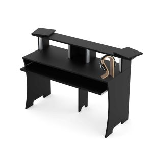 245171 Glorious Workbench black + Headphones Stand - Perspektive