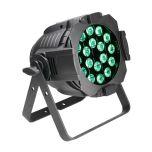 229850 Cameo Studio PAR 64 CAN 18 x 8W QUAD Colour LED RGBW PAR Scheinwerfer in schwarzem Gehäuse - Perspektive