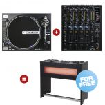 Reloop Straight Hybrid Turn - Table Set  - Perspektive