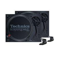 Technics SL-1210 MK7 Bundle + Reloop OM Black