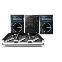 Denon DJ Prime Bundle 2x SC6000M PRIME + X1850 PRIME +  Magma Multi-Format Case