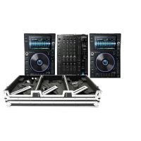 Denon DJ Prime Bundle 2x SC6000 PRIME + X1850 PRIME +  Magma Multi-Format Case