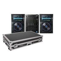 Denon DJ Prime Bundle 2x SC6000 PRIME + X1850 PRIME +  Magma Multi-Format Workstation