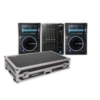 Denon DJ Prime Bundle 2x SC6000M PRIME + X1850 PRIME +  Magma Multi-Format Workstation
