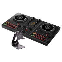 Pioneer DJ DDJ-200 + Reloop Smart Display Stand