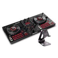 Numark Mixtrack Platinum FX + Reloop Smart Display Stand