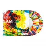 "243534 Serato 2x7"" Control Vinyl LYM-Clear - Perspektive"