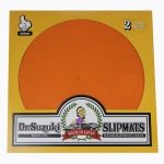 "244357 Dr.Suzuki 12"" Slipmats Mix-Edition Orange - Perspektive"