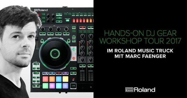 Hands-On DJ Gear Workshop - Roland Truck Tour 2017