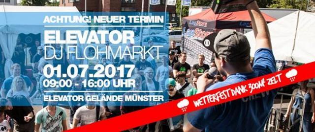 Elevator DJ Flohmarkt 2017