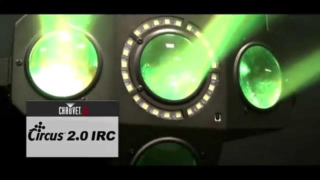 Circus 2.0 IRC by CHAUVET DJ