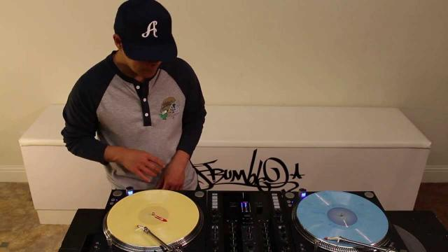 DJ Q.Bert Drumming Routine for Ortofon DJ Tutorial Anniversary