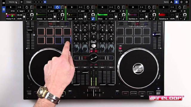 Reloop Terminal Mix 8 Tutorial 1/3: Performance Section