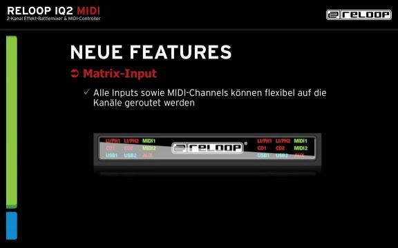 Deutsch: Reloop IQ2 MIDI (Präsentation)