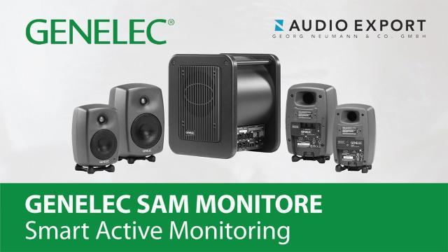 Genelec SAM Studiomonitore – Smart Active Monitoring (deutsch)