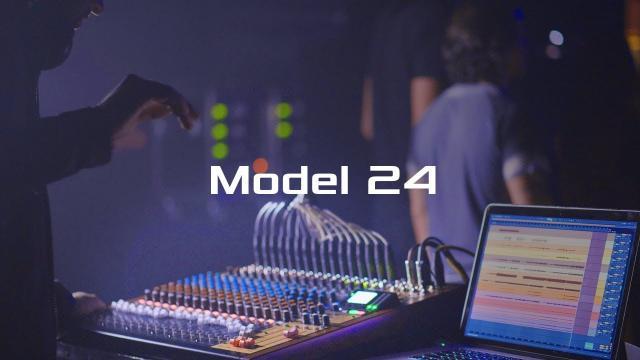 TASCAM Model 24 - The Multi-Track Live Recording Console