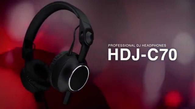 Pioneer HDJ-C70 Official Introduction