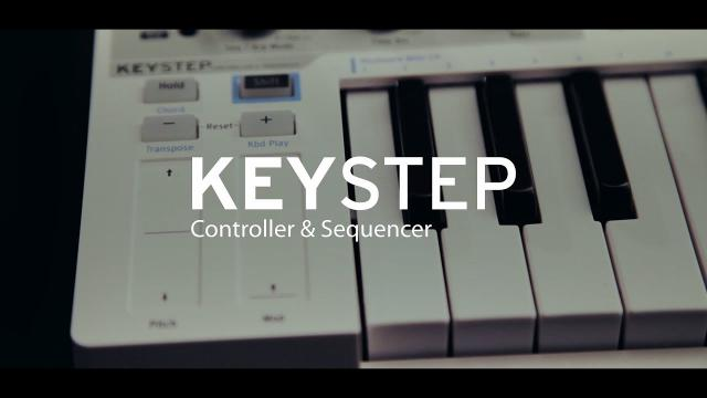 Arturia presents KeyStep, Controller and Sequencer