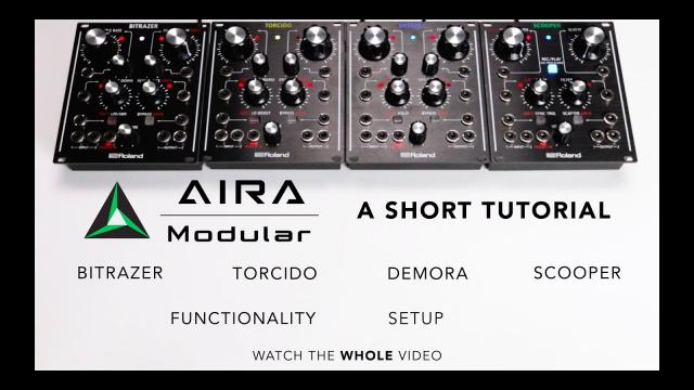AIRA Start – AIRA MODULAR (a short tutorial)