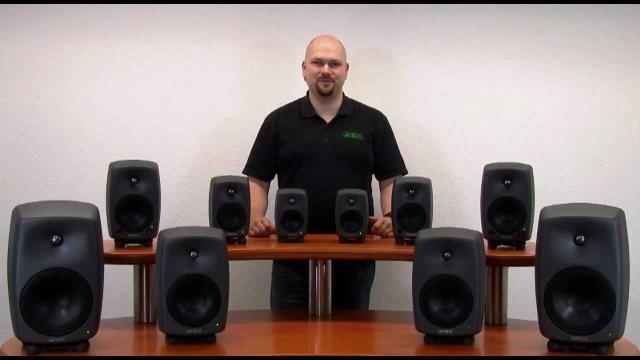 Genelec Studiomonitore 6010, 8020, 8030, 8040, 8050
