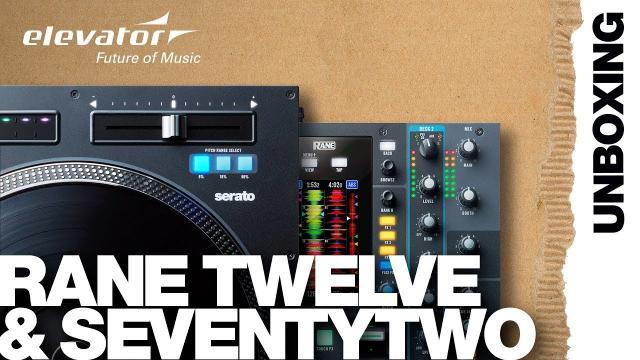 Rane Seventy-Two - Battle Mixer - Rane Twelve - Battle Controller - Unboxing (Elevator Vlog deutsch)