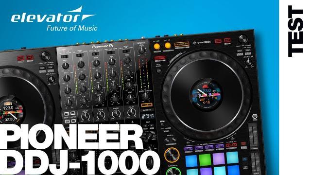 Pioneer DDJ-1000 - DJ-Controller - Test (Elevator Vlog 140 deutsch)