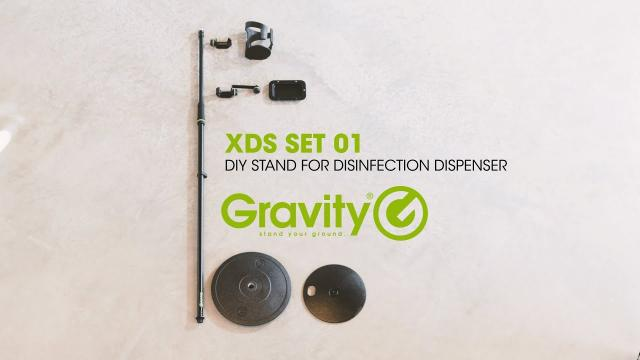 Gravity XDS 01 SET - DIY Disinfection Stand Set
