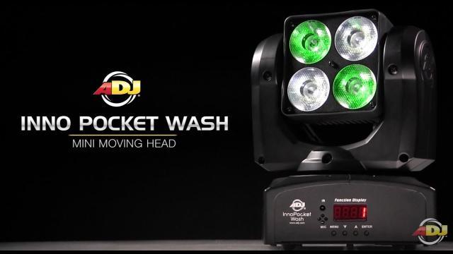 ADJ Inno Pocket Wash Sneak Peek