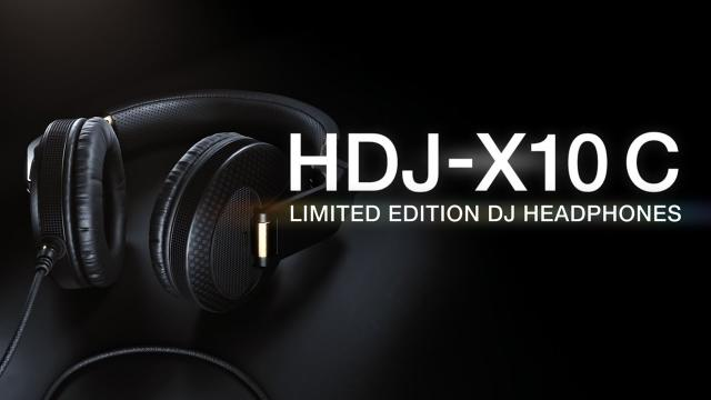 Meet the limited edition HDJ-X10C DJ headphones