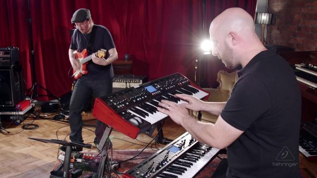 JD73 Plays The  Behringer DeepMind 12 Synthesizer