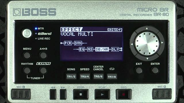 MICRO BR BR-80 Digital Recorder Overview