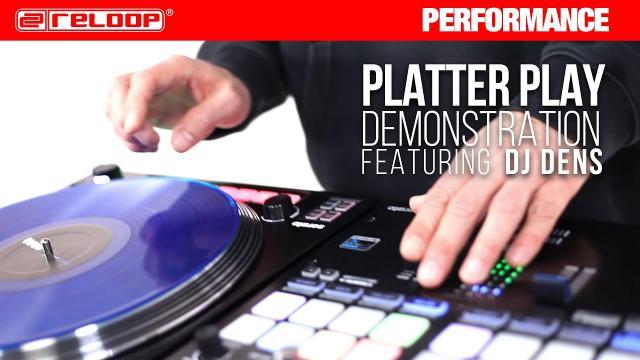 """Reloop RP-8000 MK2 """"G-Funk"""" Platter Play Routine by DJ Dens (Performance)"""