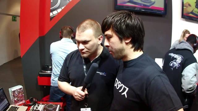 Elevator Vlog - Musikmesse 2013 - Vestax VCI-400 DJ & HMX-05