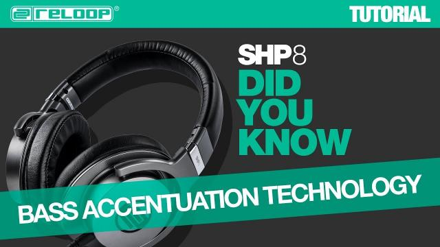 Reloop SHP-8 Professional Headphones - Bass Accentuation Technology - Did You Know? (Tutorial)