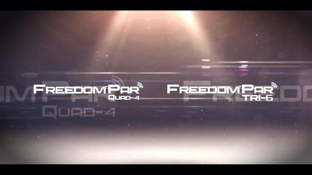 Freedom Par Tri-6 and Freedom Par Quad-4 by CHAUVET DJ