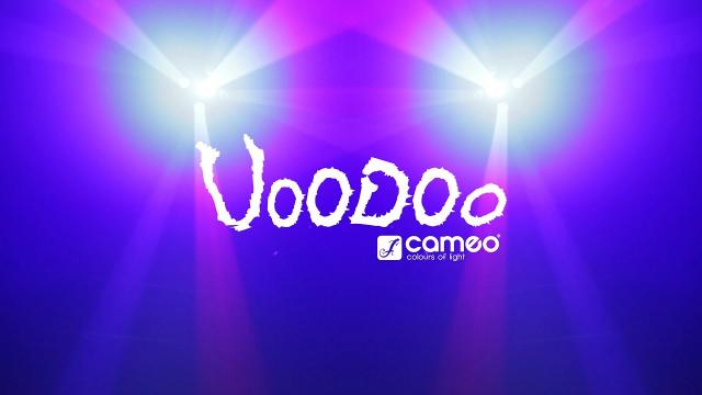 Cameo VOODOO - 2-in-1 Derby and Strobe Effect Light