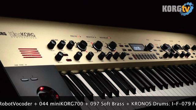 KORG TV / KingKORG Demo Songs