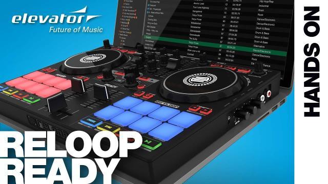 Hands On: Reloop Ready | Kompakter 2-Deck-DJ-Controller