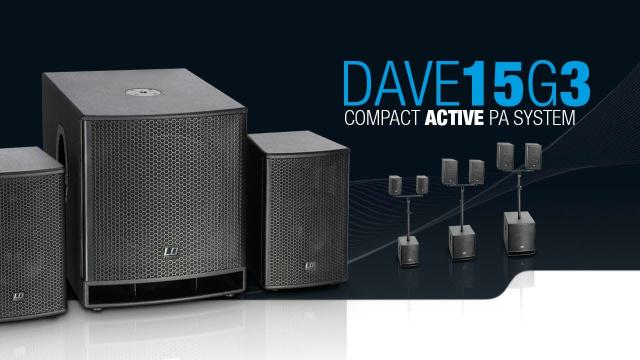 LD Systems DAVE 15 G3 - Compact 15