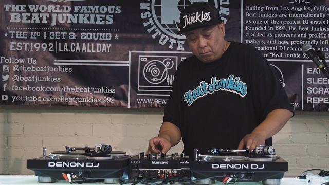 Numark Scratch X Beat Junkies Institute of Sound