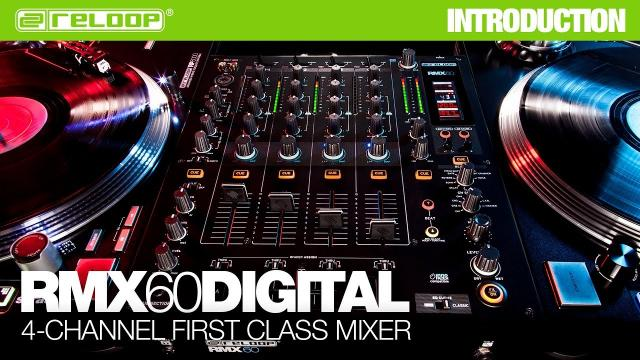 Reloop RMX-60 Digital DJ Club Mixer - 4-Channel First Class Mixer (Introduction)
