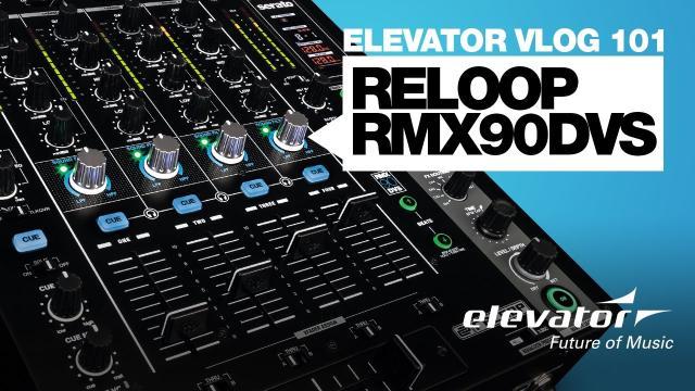 Reloop RMX-90 DVS - DJ-Mixer - Test (Elevator Vlog 101 deutsch)