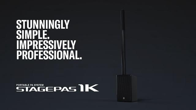 Yamaha Portable PA System STAGEPAS 1K